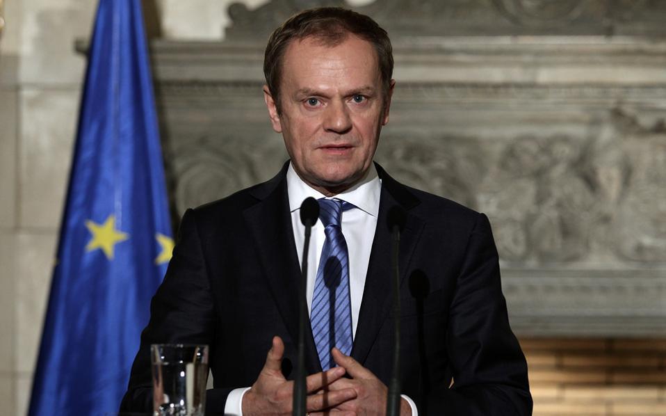 Ο πρόεδρος του Ευρωπαϊκού Συμβουλίου, Ντόναλντ Τουσκ, κάλεσε όλες τις πλευρές να επιταχύνουν ώστε να υπάρχει συμφωνία στη σύνοδο του G7, που είναι προγραμματισμένη για τις 26-27 Μαΐου.