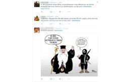 Ενδεικτικά του κλίματος είναι τα tweets που προκάλεσαν οι δηλώσεις του Μητροπολίτη Αμβροσίου.