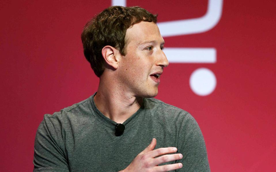 Ο ιδρυτής του Facebook, Μαρκ Ζούκερμπεργκ.