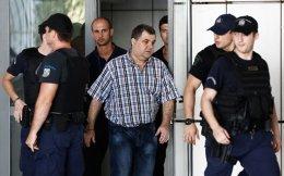 Ο Γιώργος Ρουπακιάς προσερχόμενος χθες στην αίθουσα του Εφετείου Αθηνών.