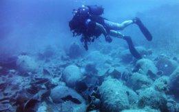 Υποβρύχια έρευνα σε ναυάγιο εμπορικού πλοίου της ρωμαϊκής περιόδου.