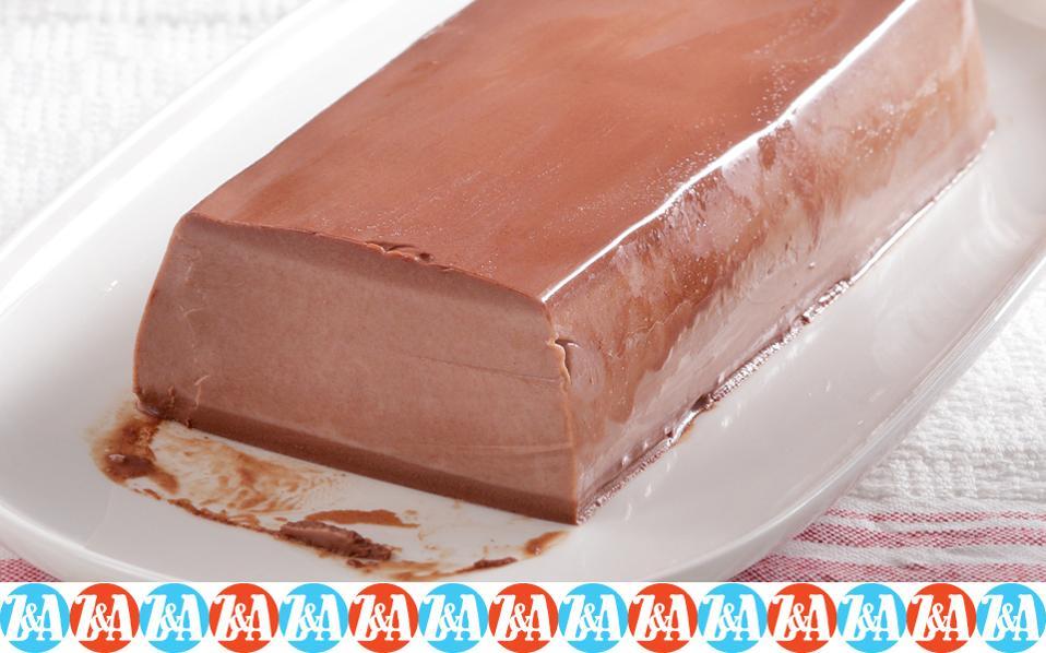 Εύκολο ζελέ σοκολάτας