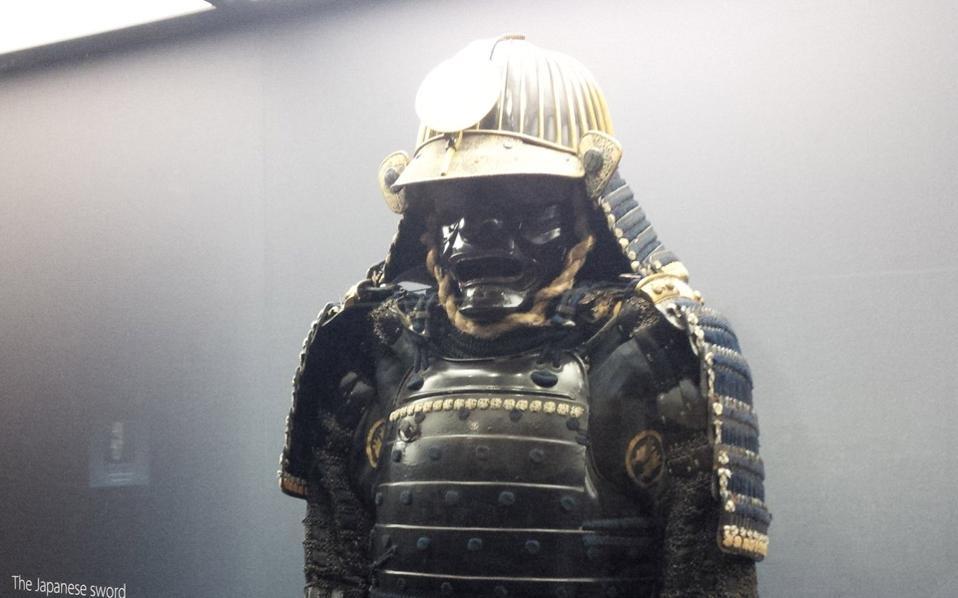 Πανοπλία πολεμιστή Σαμουράι, της στρατιωτικής ελίτ που κυριάρχησε στην Ιαπωνία από τον 12ο έως τον 19ο αιώνα.