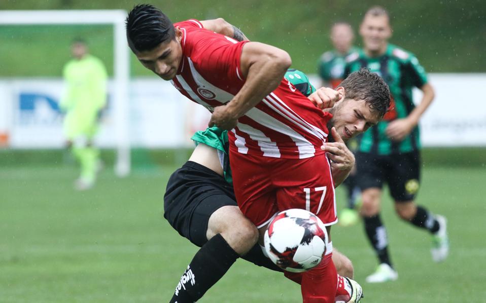 Ο Πουλίδο διαμόρφωσε το τελικό 1-1 για τον Ολυμπιακό.