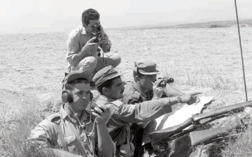 Ασκήσεις εθνοφρουρών στη Μόρφου, 27 Ιουνίου 1965 (Αρχείο Γραφείου Τύπου και Πληροφοριών Κύπρου).