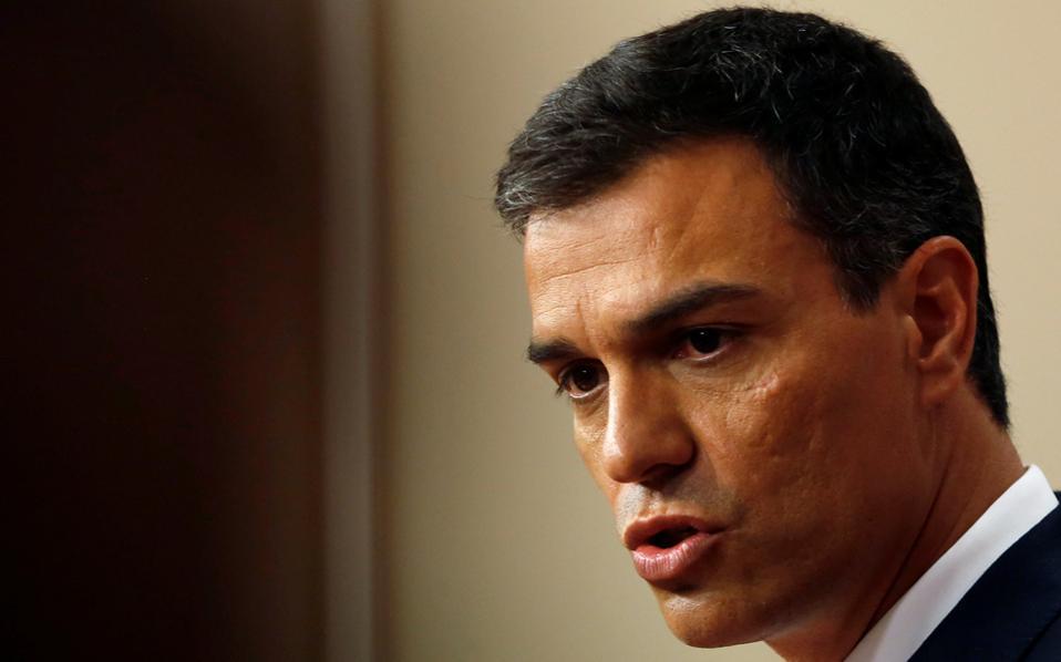Ο Σάντσες τόνισε ότι το ψήφισμα της ομοσπονδιακής επιτροπής του (Σοσιαλιστικού) κόμματος ήταν σαφές.
