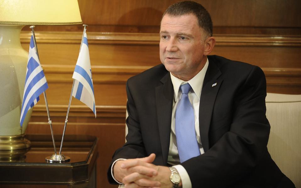 """«Δεν θα υπάρξει Ισραηλινός ηγέτης που θα επιλέξει να διαφοροποιηθεί εύκολα σε σχέση με την τριμερή αυτή συνεργασία λόγω των σχέσεων με την Τουρκία και να πει """"τώρα έχω ένα νέο φίλο""""», τονίζει ο κ. Γιούλι - Γιοέλ Εντελστάιν."""