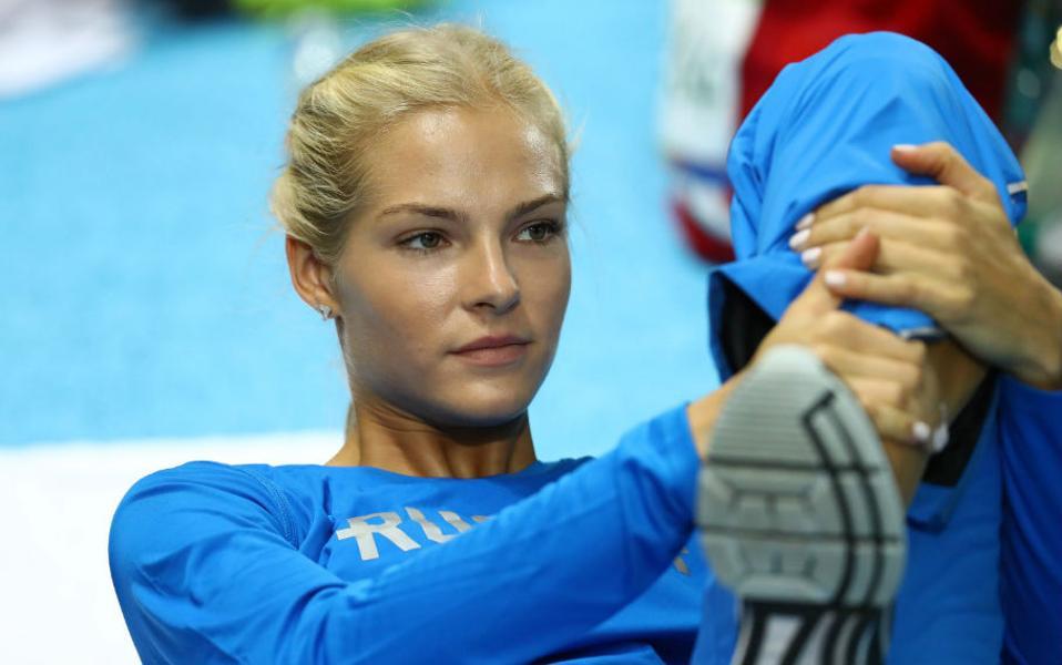 Η Ολυμπιάδα αλλιώς... Νο6. Επειδή σε κάθε διοργάνωση θα υπάρχει μια μάλλον ξανθιά, σίγουρα ψηλή και με κάθε βεβαιότητα πανέμορφη αθλήτρια, ιδού η  Darya Klishina  από την Ρωσία. REUTERS/Kai Pfaffenbach