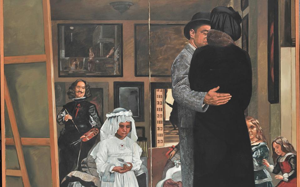 Εργο του Κυριάκου Κατζουράκη από τις συλλογές της Εθνικής Πινακοθήκης.