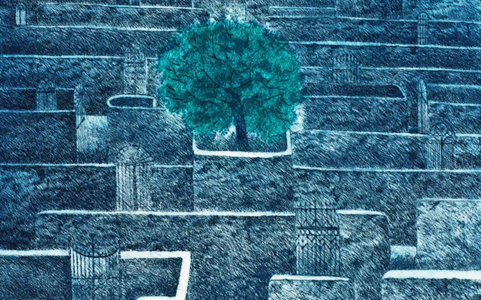 Ονειρικός περίπατος στις γκραβούρες της Ζιζέλ Ντενεμουστιέ στο Μουσείο Χαρακτικής Τάκη Κατσουλίδη.