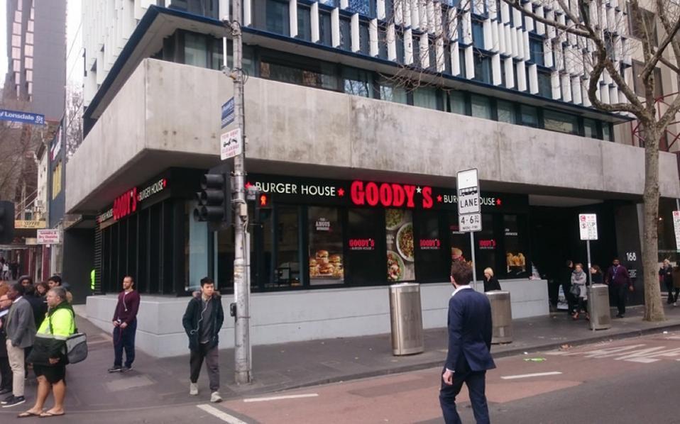 Το κατάστημα βρίσκεται στο ισόγειο του ουρανοξύστη του Ελληνικού Πολιτιστικού Κέντρου της Ελληνικής Κοινότητας Μελβούρνης και Βικτωρίας.