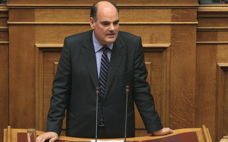 Ο πρώην Πρύτανης του ΕΚΠΑ και Συντονιστής Μορφωτικών υποθέσεων της ΝΔ, κ. Φορτσάκης.