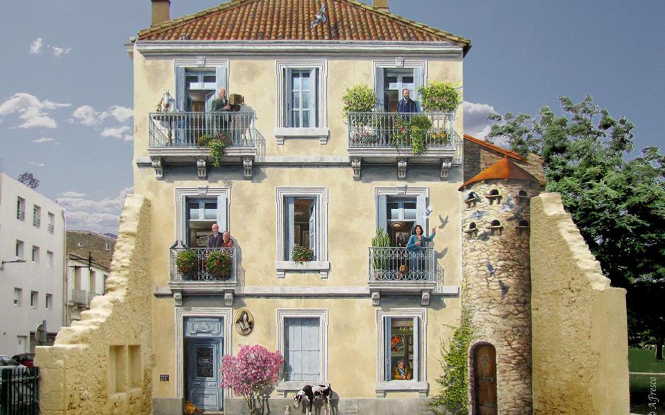 Τα «ολοζώντανα» έργα του Κομεσί και της ομάδας του σε γαλλικές πόλεις.
