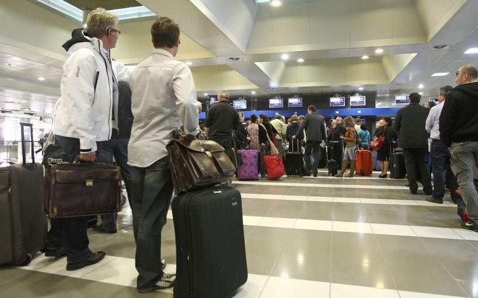"""Φωτογραφία αρχείου του αεροδρομίου """"Μακεδονία"""" στη Θεσσαλονίκη."""