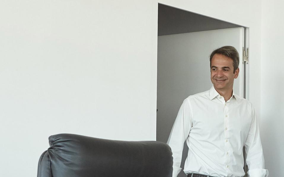 Από τα κεντρικά μηνύματα της ομιλίας του προέδρου της Ν.Δ. Κυρ. Μητσοτάκη ενώπιον των παραγωγικών φορέων στη ΔΕΘ, θα είναι το «Ελλάδα από την αρχή…».