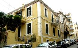 Το σπίτι της Καβάλας που έγινε αντικείμενο μελέτης. Χτίστηκε το 1903 από τον Δ. Σούλα και ανακαινίστηκε το 1936 από τον Χρ. Παπανικολάου.