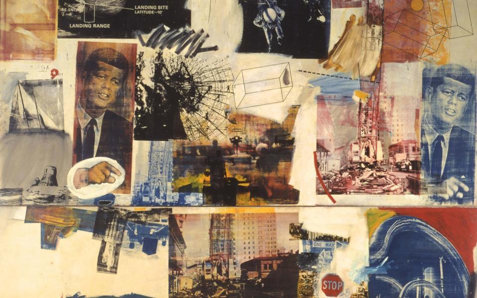 To έργο «Retroactive II»,  που θα παρουσιαστεί στην Τate Modern, απεικονίζει τον Τζ. Κένεντι.