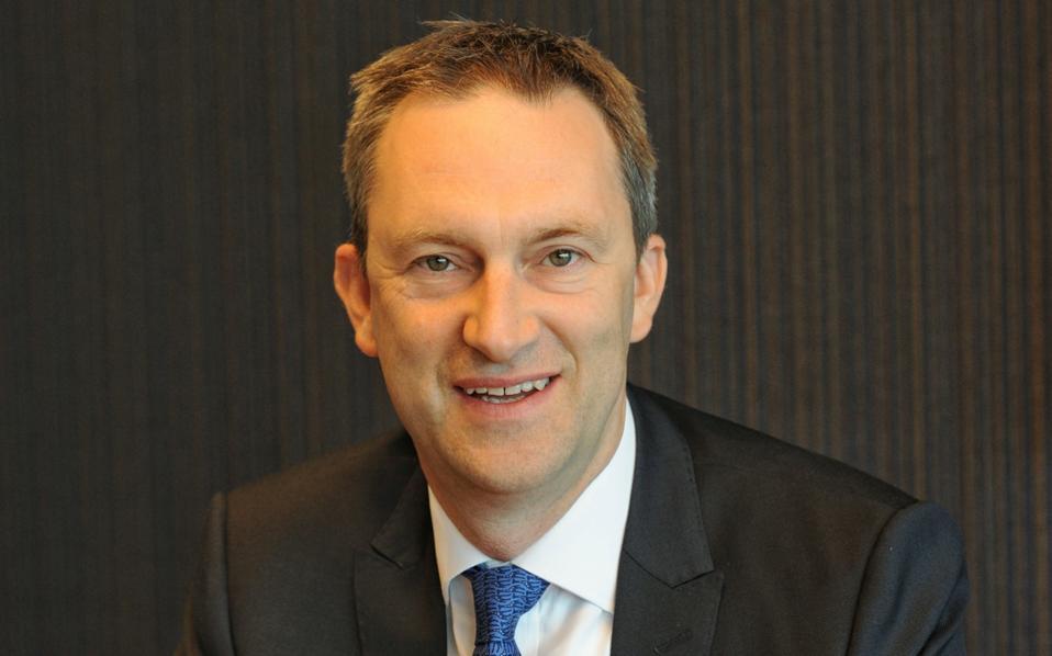 Ο νέος διευθύνων σύμβουλος του ΟΠΑΠ, κ. Ντάμιαν Κόουπ.