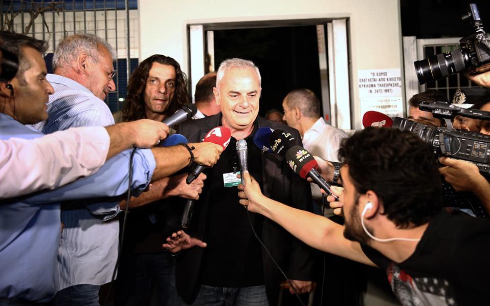 Ο εκπρόσωπος και διευθύνων σύμβουλος του ΣΚΑΪ, κύριος Κώστας Κιμπουρόπουλος.