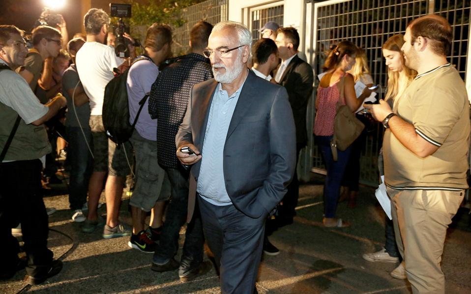 """Ο επιχειρηματίας κ. Ιβάν Σαβίδης έδωσε """"Συγχαρητήρια στους νικητές""""."""