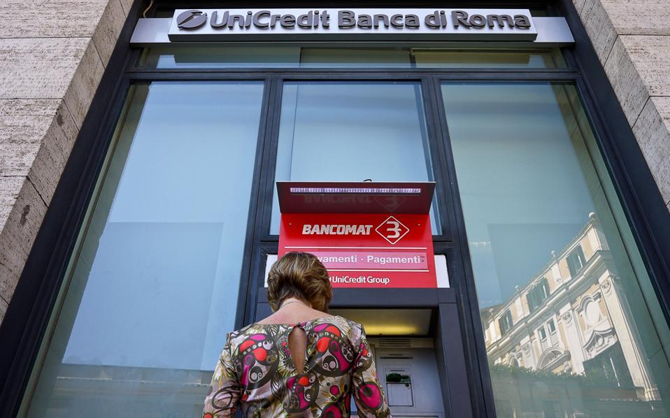 Η Unicredit είναι η μοναδική τράπεζα της Ιταλίας που θεωρείται συστημικά σημαντική για όλον τον ευρωπαϊκό τραπεζικό κλάδο.