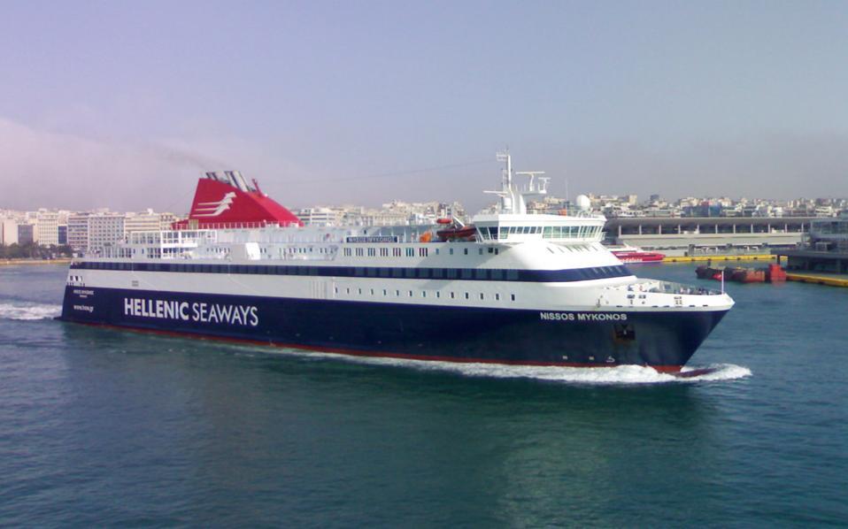 Δεδομένο είναι το ενδιαφέρον του ομίλου Γκριμάλντι, που ελέγχει ήδη το 48% της Hellenic Seaways.