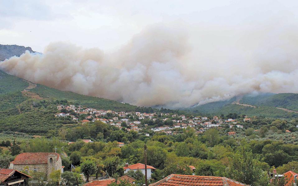 Ευρωπαϊκό δορυφορικό σύστημα υπολόγισε σε 120.000 στρέμματα την έκταση από όπου πέρασε η φωτιά.