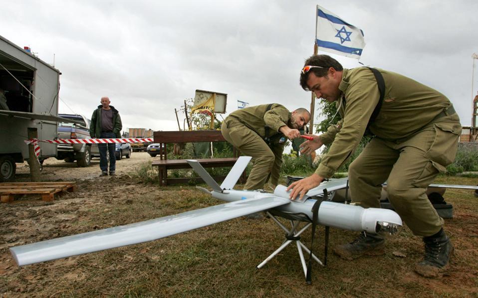 Το Ισραήλ έχει αναδειχθεί σε κορυφαίο κατασκευαστή drones, εν μέρει χάρη στην αμερικανική αμυντική βοήθεια προς τη χώρα.