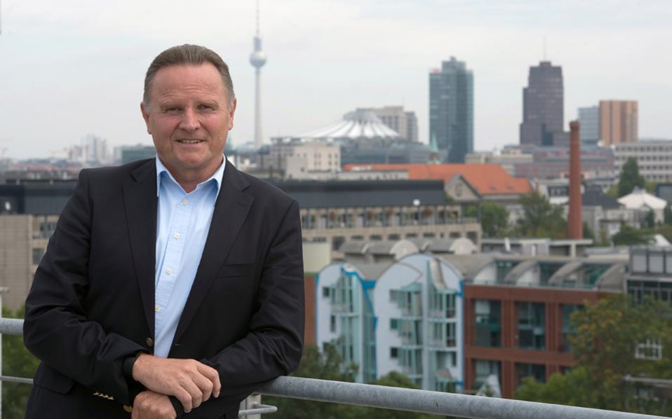 Ο επικεφαλής της AfD στο Βερολίνο Γκέοργκ Πατσντέρσκι.