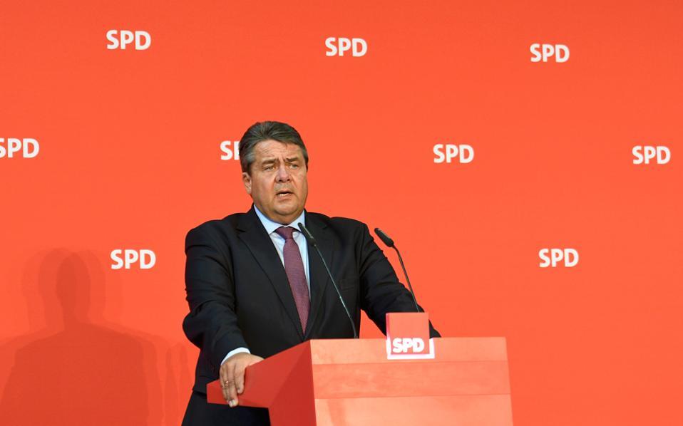 Ο Γερμανός αντικαγκελάριος Ζίγκμαρ Γκάμπριελ.