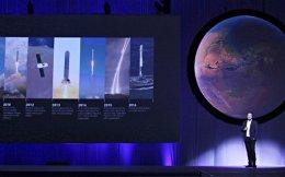 Ο διευθύνων σύμβουλος και ιδρυτής της ιδιωτικής διαστημικής εταιρείας SpaceX Ιλον Μασκ παρουσιάζει τα σχέδιά του την Τρίτη στο Μεξικό.