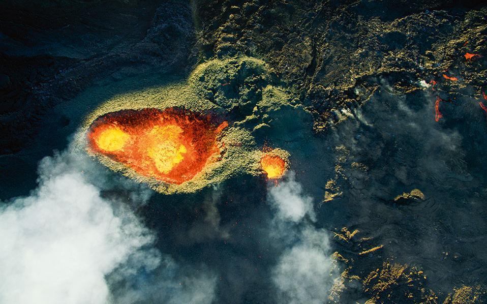 3ο Βραβείο – Κατηγορία Φύση-Άγρια Ζωή – Ηφαίστειο Piton de la  fournaise, Jonathan Payet