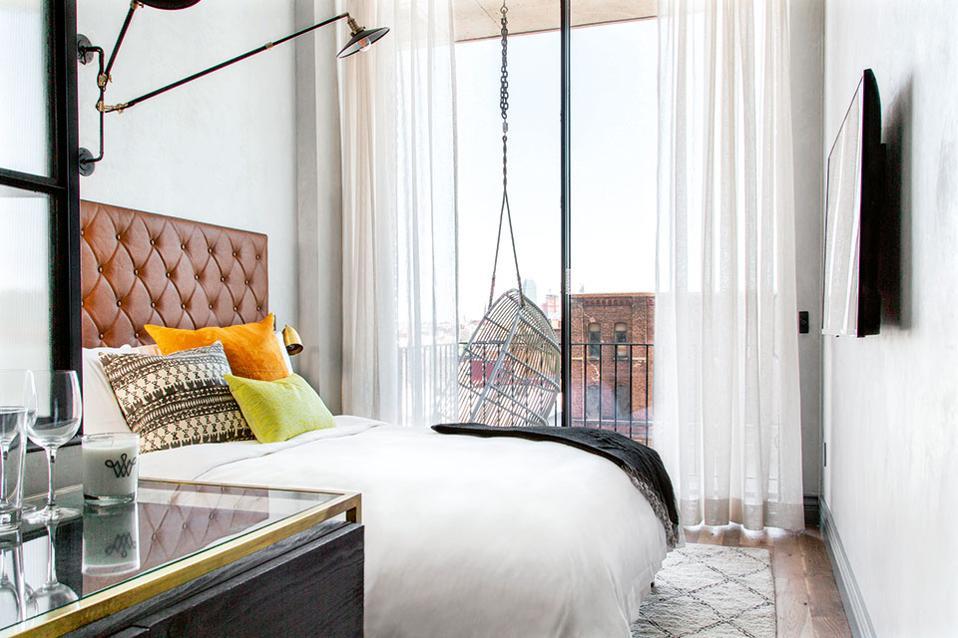 The Williamsburg Hotel - Τα συστατικά ενός καλού ξενοδοχείου: απλότητα, πολυτέλεια και φυσικό φως.