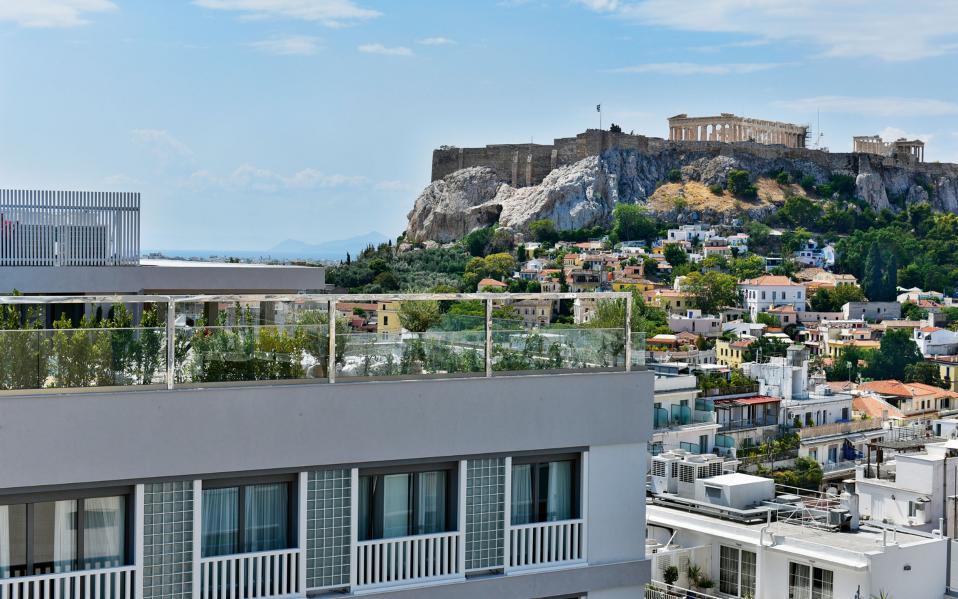 Μαγευτική θέα (και) στην Ακρόπολη: ένα από τα πολλά ατού του νέου ξενοδοχείου.