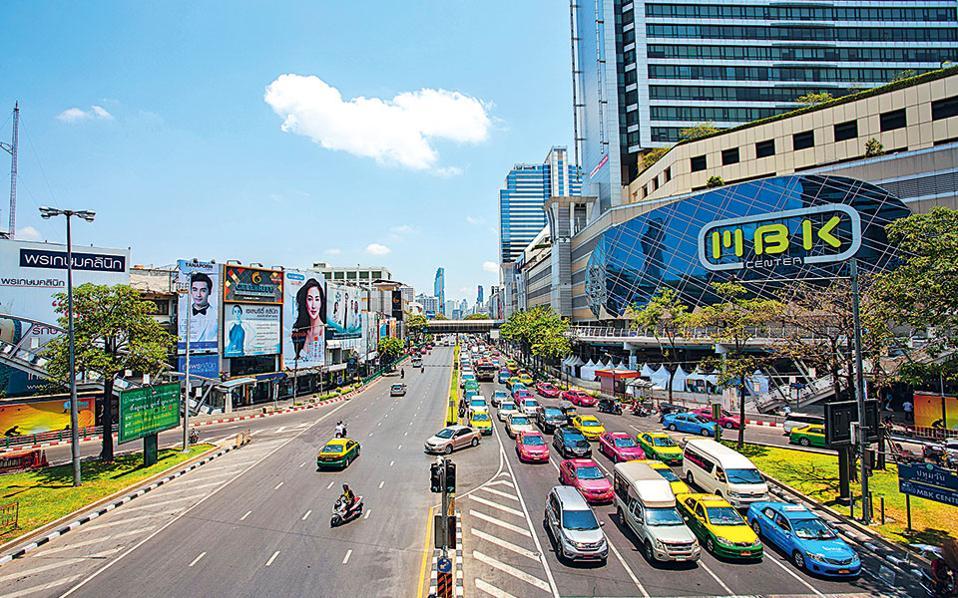 Το εμπορικό κέντρο ΜΒΚ είναι αδελφάκι του Siam Paragon, το οποίο βρίσκεται στην ίδια περιοχή. (Φωτογραφία: FRANCOIS FOURRIER)