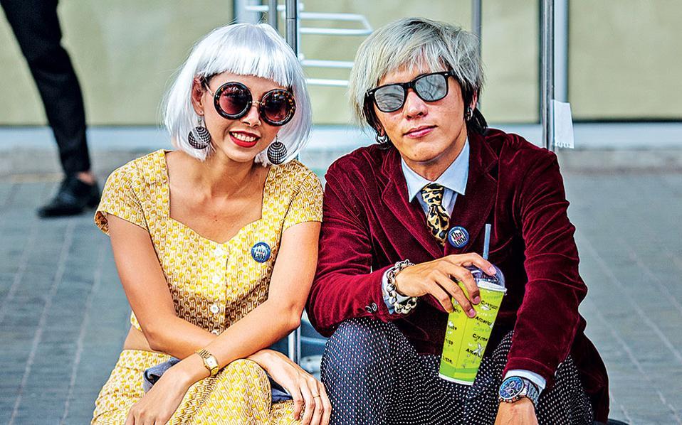 Οι hipsters στην Μπανγκόκ είναι ό,τι πιο «δροσερό» μπορείτε να συναντήσετε μέσα στην αποπνικτική ζέστη της πόλης. (Φωτογραφία: FRANCOIS FOURRIER)