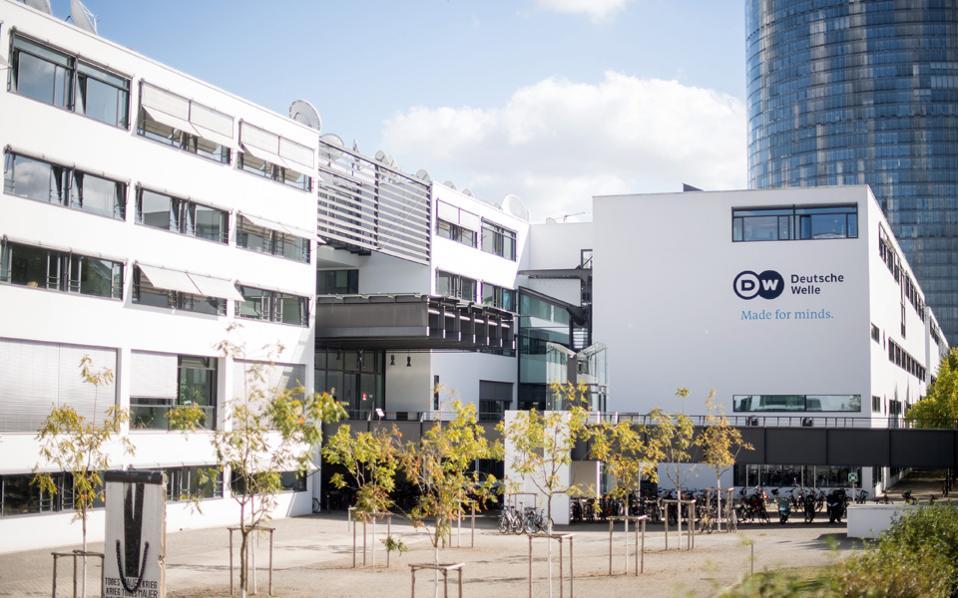 Τα κεντρικά γραφεία της γερμανικής Deutsche Welle στη Βόννη.