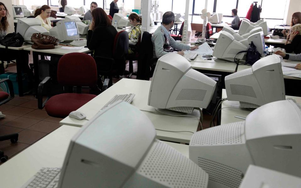 Το σχέδιο προβλέπει την ψηφιακή αποτύπωση όλων των φορέων του Δημοσίου και την καταγραφή του ανθρώπινου δυναμικού τους.