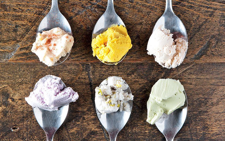 Δεκάδες απίθανες γεύσειστο «ναό του παγωτού», το FoMu.