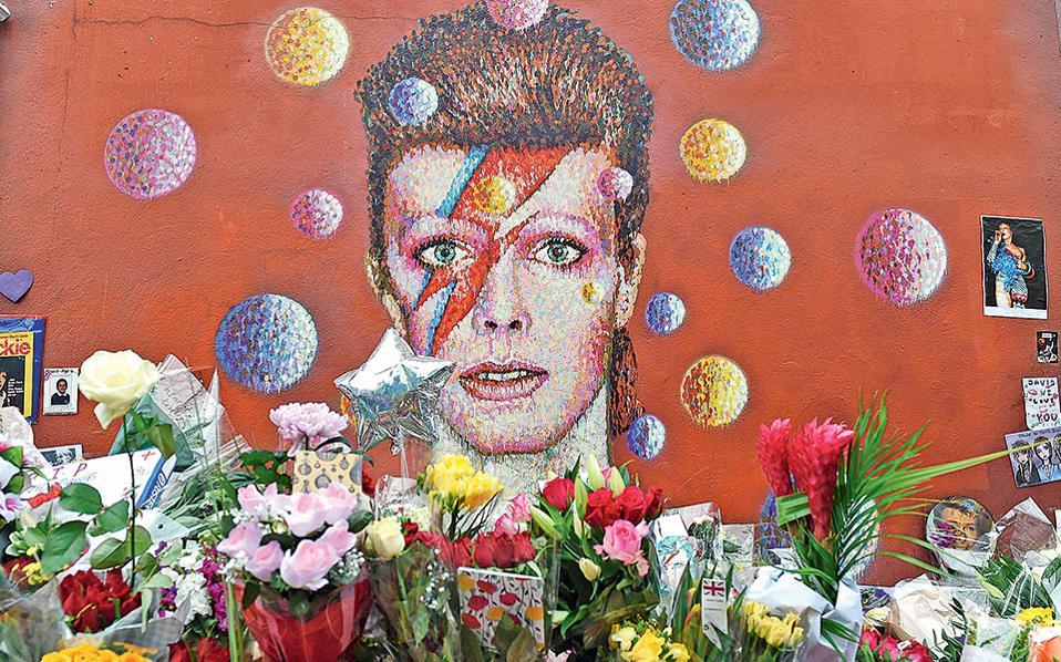Η τοιχογραφία του Ντέιβιντ Μπάουι ανακηρύχθηκε επίσημα μνημείο.