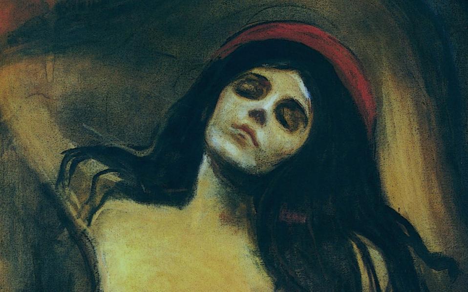 Η «Σκοτεινή Μαντόνα» του Εντβαρντ Μουνχ. Θα μπορούσε να προσεύχεται, μα θα μπορούσε επίσης να ηδονίζεται. Ιδανική αποτύπωση της μυθικής Λίλιθ.