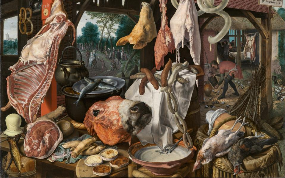 Zωγραφική: Pieter Aertsen (Aμστερνταμ, 1508 – 1575).
