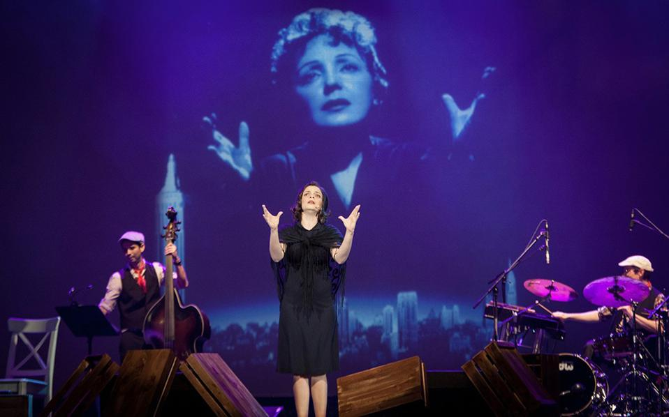 Η παράσταση «Piaf! The Show»,με πρωταγωνίστρια τη Γαλλίδα ερμηνεύτρια Αnne Carrere, θα δοθεί την Τετάρτη 28 Σεπτεμβρίου στο Ηρώδειο.