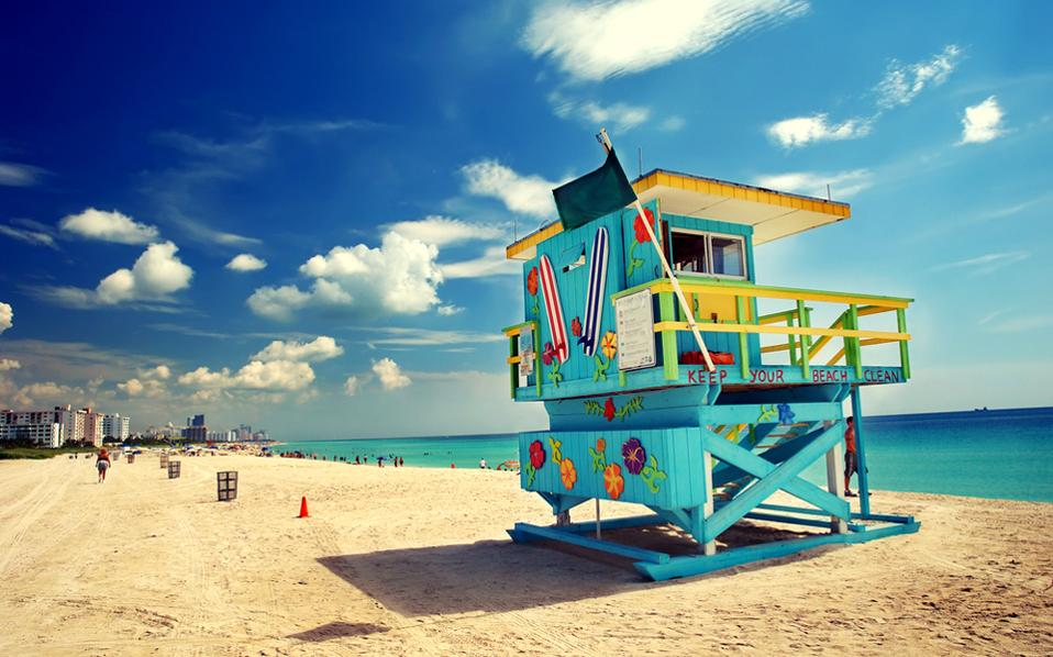 South Beach, ΗΠΑ (Φωτογραφία: Shutterstock)