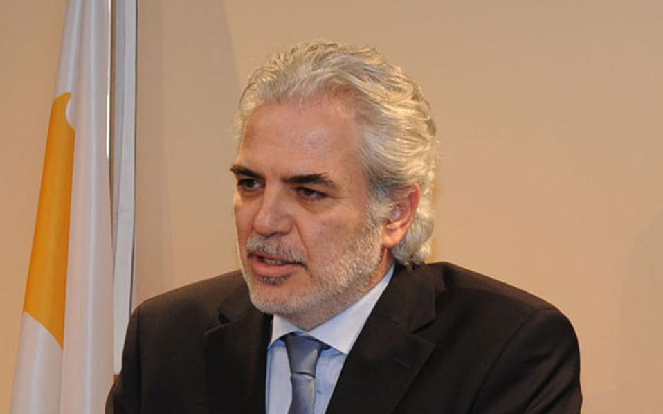 Ο επίτροπος Ανθρωπιστικής Βοήθειας και Διαχείρισης Κρίσεων, Χρήστος Στυλιανίδης.