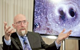Ο καθηγητής Kip Thorne, ένας από τους τρεις κύριους δημιουργούς του LIGO.