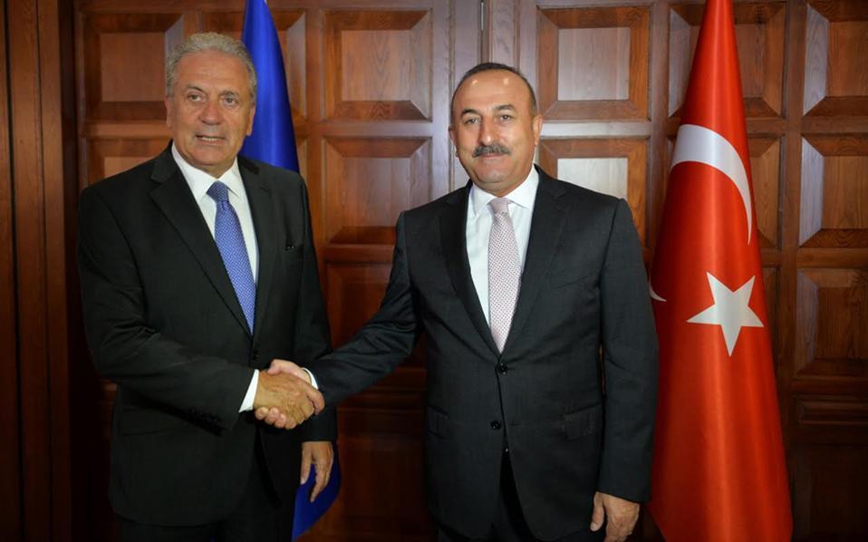 Με τον Υπουργό Εξωτερικών κ. Μεβλούτ Τσαβούσογλου