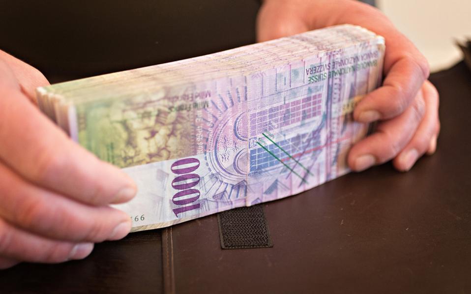 Ο επικεφαλής της Τράπεζας της Ελβετίας Τόμας Τζόρνταν έχει αποκλείσει την προοπτική κατάργησης οποιουδήποτε χαρτονομίσματος του ελβετικού φράγκου, αδιακρίτως υψηλής αξίας.