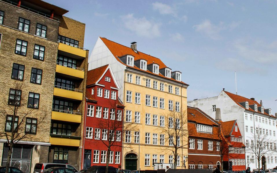 Αποψη από την Κοπεγχάγη. Οι τιμές είναι υψηλότερα του 2008, όταν είχε «σκάσει» η κτηματαγορά.