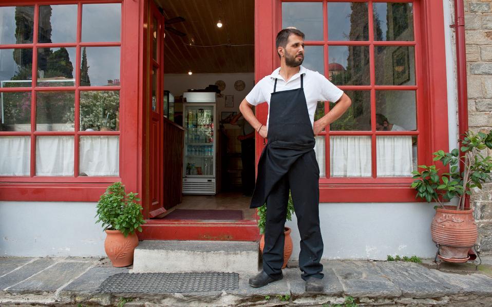 Το εστιατόριο του Νίκου Μακρίδη λειτουργεί εδώ και 25 χρόνια.
